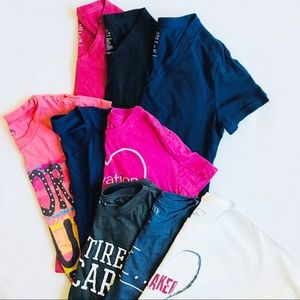 Tops - 9 tees - various sizes